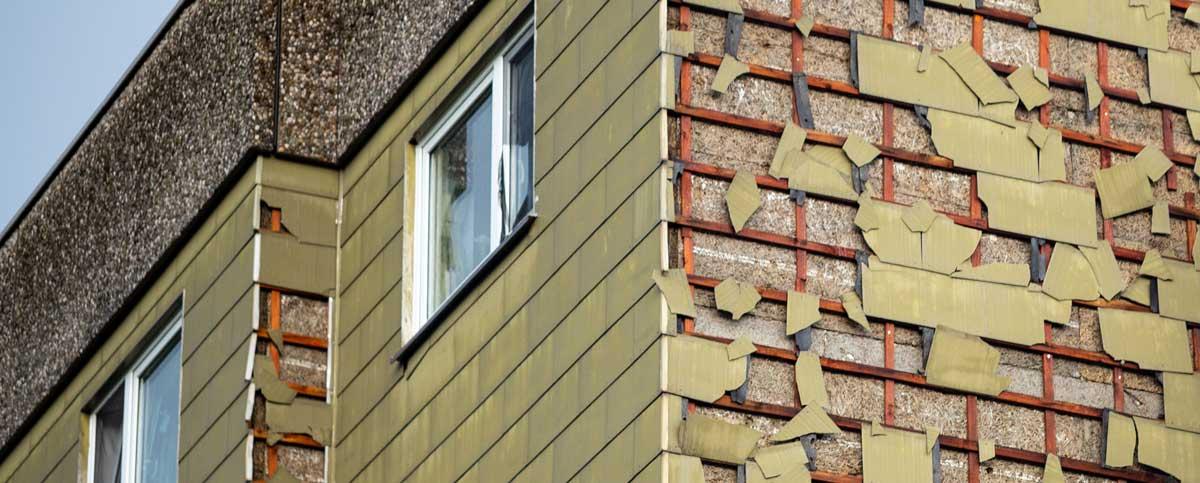 Asbestsanierung für Fassaden und Dächer im Raum München und ganz Bayern